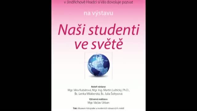Výstava na fakultě dokumentuje přeshraniční výměnu studentů