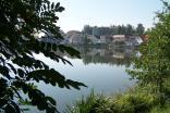 Pohled na rybník Vajgar