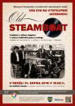 Koncert jazzbandu Old Steamboat 2016 v MFMOM, plakát