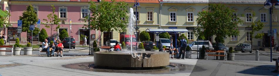 Fontána Masarykovo náměstí